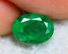 Emerald 1.94Ct Natural Colombia Green Emerald E1005/A38
