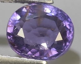 1.60 CTS LOVELY NATURAL VIOLET COLOUR SPINEL BURMA~EXCELLENT!!