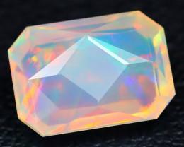 Welo Opal 1.63Ct Precision Master Cut Natural Ethiopian Welo Opal B0711
