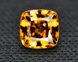 Yellow Color Zircon 1.75 Ct Natural Top Color