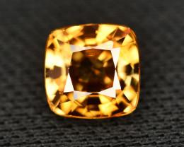 Yellow Color Zircon 2.05 Ct Natural Top Color