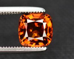 Orange Color Zircon 2 Ct Natural Top Color
