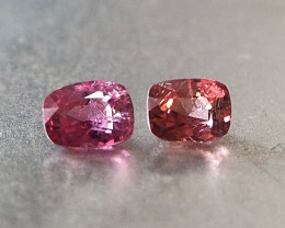 1.74ct natural spinels