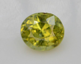 Top Grade 0.65 ct Demantoid Garnet