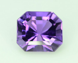 AAA  Color 6.65 ct Untreated Amethyst~AS