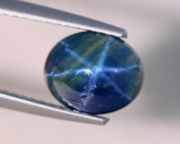 2.62Ct Natural 6 Rays Star Blue Sapphire  Lot LZ7027
