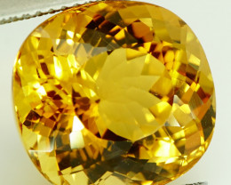 11.53 ct Natural Earth Mined Yellow Beryl, Madagascar - IGE Certificate