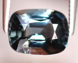 Spinel 2.10Ct Mogok Spinel Natural Burmese Titanium Blue Spinel  DF1114/A12