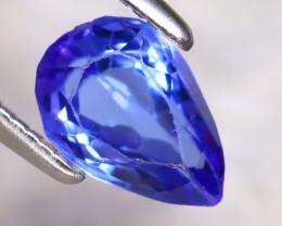 Tanzanite 1.00Ct Natural VVS Purplish Blue Tanzanite DF1120/D3