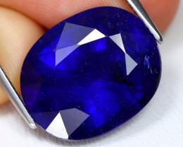 Blue Sapphire 15.22Ct Oval Cut Royal Blue Color Sapphire C0905