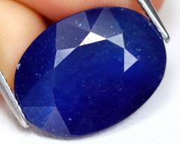 Blue Sapphire 12.71Ct Oval Cut Royal Blue Color Sapphire C0910