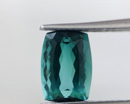 Natural Lagoon Blue / Green Tourmaline from Afghanistan 2.49 cts, No Heated