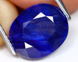 Blue Sapphire 6.70Ct Oval Cut Royal Blue Sapphire A0903