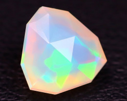 Welo Opal 1.00Ct Master Cut Natural Ethiopian Flash Color Welo Opal C1006