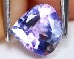 Tanzanite 1.06Ct Pear Cut Natural Purplish Blue Tanzanite B0902