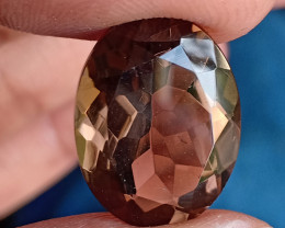 A+++ QUALITY SMOKY QUARTZ GEMSTONE NATURAL+UNTREATED VA4918