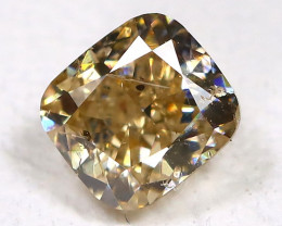 Greenish Orange Diamond 0.30Ct Untreated Genuine Fancy Diamond A1002