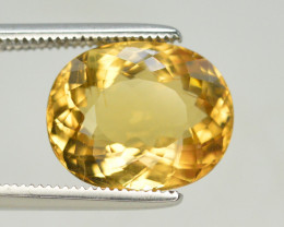 4.65  Natural Heliodor Yellow Beryl Loose Gemstone