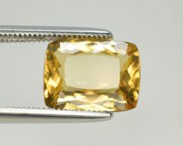 2.95CT  Natural Heliodor Yellow Beryl Loose Gemstone