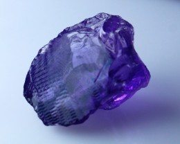 12.90 CTs Natural - Unheated Purple Amethyst Rough