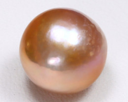 South Sea Pearl 12.5mm Natural Purplish Pink Salt Water Pearl B1010