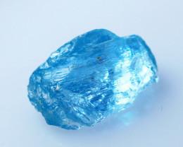3.90 CTs Natural - Unheated Blue Aquamarine Rough