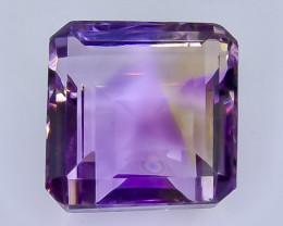 14.81 Crt Natural  Ametrine Faceted Gemstone.( AB 23)