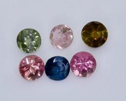 1.68 Crt Natural Tourmaline  Faceted Gemstone.( AB 23)