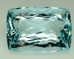 Unheated - 48.81 ct  Natural Earth Mined Blue Aquamarine – IGE Certificate