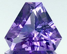 6.20 Ct Natural Amethyst Top Cutting Top Quality Gemstone.ATF 14