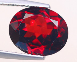 4.77Ct Natural Almandine Garnet Oval Cut Lot D436