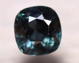 Spinel 1.92Ct Mogok Spinel Natural Burmese Titanium Blue Spinel E1204/A12