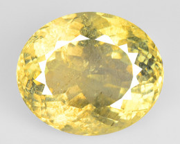 6.39 Cts Amazing Rare Natural Yelow Color Andesine Loose Gemstone
