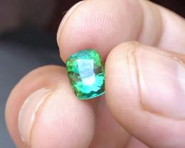 2.80 Ct Natural Greenish Blue Transparent Tourmaline Gemstone