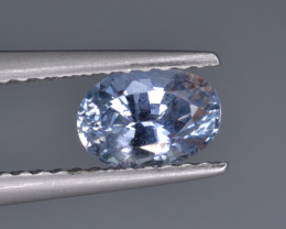 Natural Colorless Sapphire 0.84  Cts  Top Luster from Sri Lanka