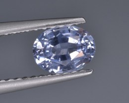 Natural Colorless Sapphire 0.87 Cts  Top Luster from Sri Lanka