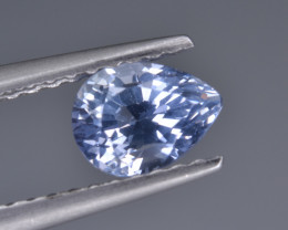Natural Colorless Sapphire 0.79 Cts  Top Luster from Sri Lanka