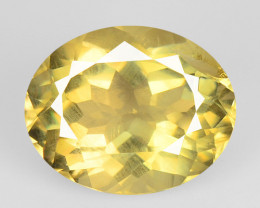 3.94 Cts Amazing Rare Natural Yellow Color Andesine