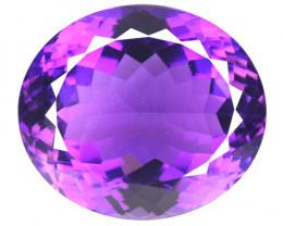 *No Reserve* Amethyst 22.22 Cts Natural Purple Amethyst Loose Gemstone