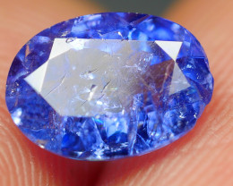 1.690CRT WONDERFULL TANZANITE TOP COLOR GEMSTONE -