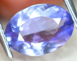 Tanzanite 1.64Ct VS Oval Cut Natural Vivid Purplish Blue Tanzanite C1207