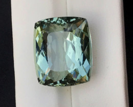 27.70 Carats Natural Top Grade Color Greenish Aquamarine Beryl Gems