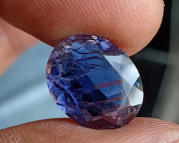 Natural iolite Big Size Faceted Gemstone VA4993