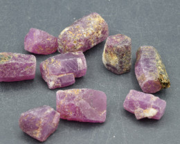 Natural RubyCrystal Type Rough 103 Cts Lot