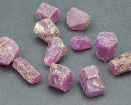 Natural RubyCrystal Type Rough 103.5 Cts Lot