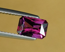 1.38CT SUPERB HOT PURPLE RARE MOZAMBIQUE GARNET $1NR!