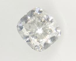 0.71 cts , Cushion Brilliant Cut Diamond , Natural White Diamond