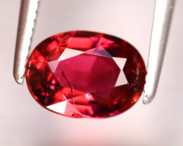Tourmaline 1.14Ct Natural Reddish Pink Tourmaline DF1317/B19