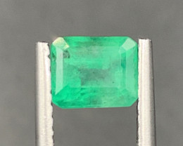 0.84 ct Natural color Emerald gemstone