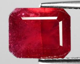 4.50 Cts Pinkish Red Natural Ruby BURMA  Loose Gemstone